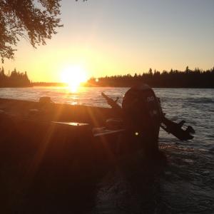 kenai river sunrise