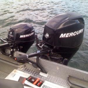 power boat mercury motors