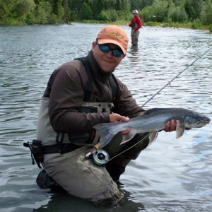 DOLLY VARDEN ON THE UPPER KENAI RIVER