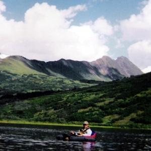 FLOAT TUBE FISHING FOR GRAYLING