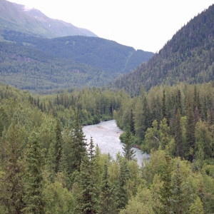 kenai canyon over look