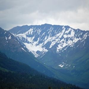 portage glacier view