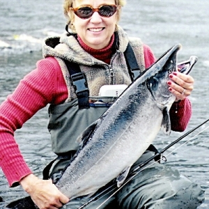 LINDA WITH A NICE SILVER