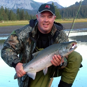 SILVER SALMON ON THE FLY ROD