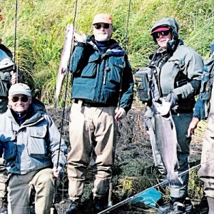 FLY ROD COHOE FISHING