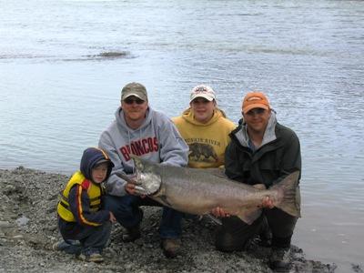 Family Fun King salmon fishing